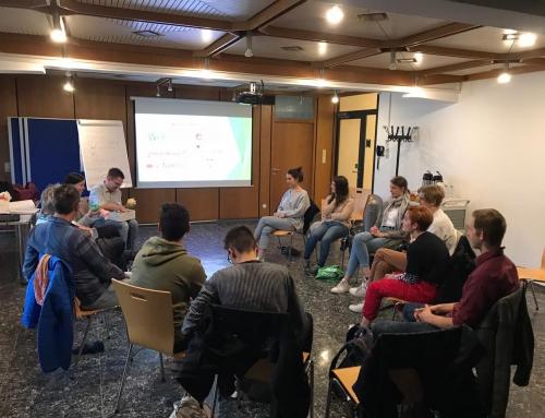 Grüne Jugend Bochum zu Besuch im WIR